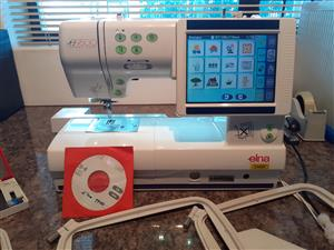 ELNA 9600 EMBROIDERY & SEWING MACHINE