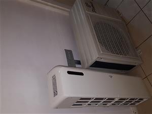 18000btu air con and condenser