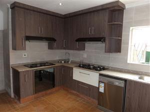 Kitchen built-in wardrobes cupboards vanity