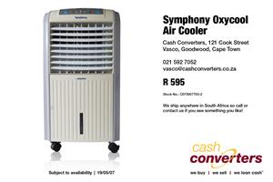 Symphony Oxycool Air Cooler