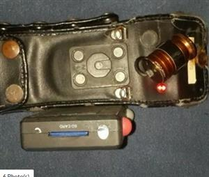 personal body camera with pouch.excellent for security companies,staff,shop workers etc