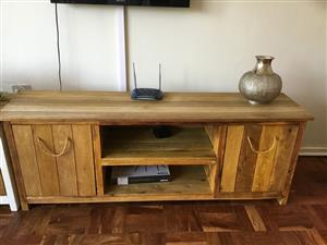 Wooden tv cabinet for sale