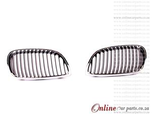 BWM E92 Right and Left Hand Side Grille BK And CP Frame 2D P3 2005-2011