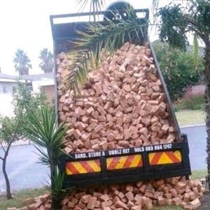 CLAY R.O.K HALF BRICKS SUPPLY AND DELIVERY @R60/M2