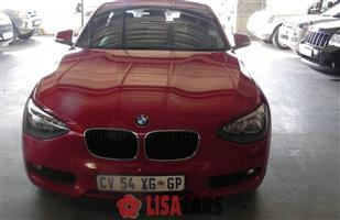 2013 BMW 1 Series 118i 5 door auto