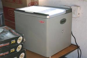 Silver mini freezer for sale