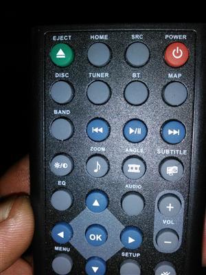 Indash DVD player xtc