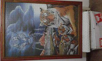 1,000 Piece Framed Puzzle