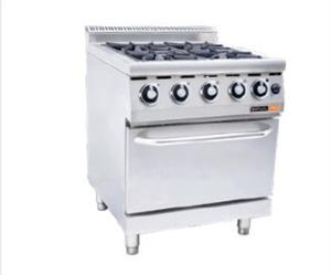 GAS STOVE WITH GAS OVEN ANVIL - 4 BURNER-COA3004