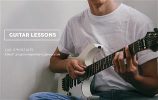 Guitar lessons Mowbray