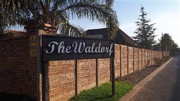 One bedroom townhouse, Boksburg Waldorf