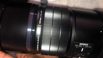 Olympus lens 300 mm -1:4 for sale.