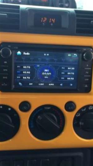 Double din touch screen radio for toyota fortuner hilux