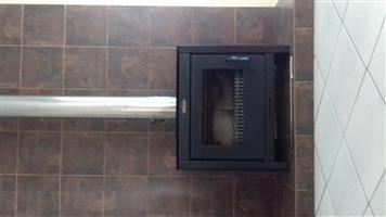 Jet master fireplace