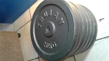 a lot of weights, bsrs, ect