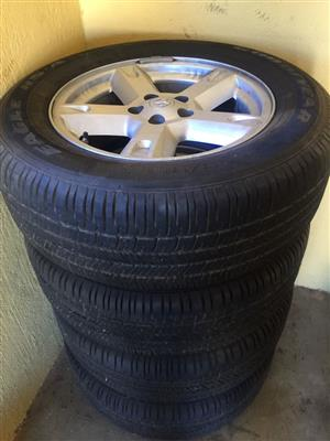 2009 Accessories Mags/Tyres