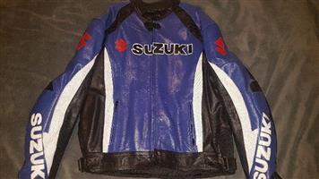Suzuki Leather Jacket 6XL