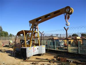 Hyster Mobile Crane - ON AUCTION