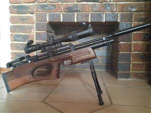 .22 Cal (5.5mm) Kral Arms Puncher Breaker Bullpup - PCP Air Rifle - Woodstock