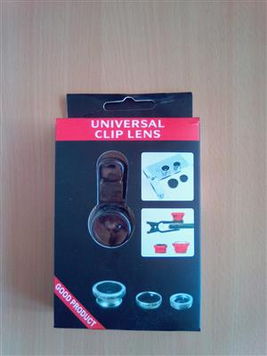 Universal Clips Lense. For enhancing mobile camera immage.