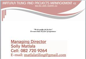 Tiling and renovations services