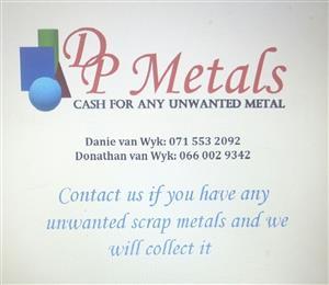 Scrap metal for Cash