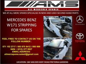 MERCEDES BENZ W171 STRIPPING FOR SPARES