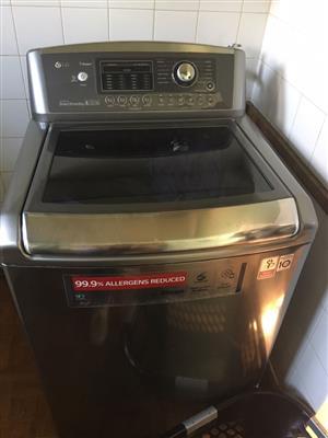 LG 20 Kg steam washing mashine
