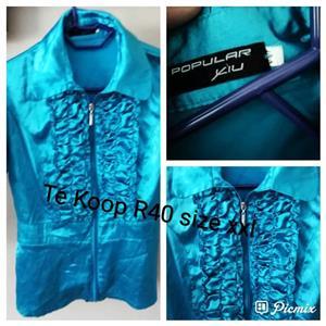 Blue ladies blouse for sale