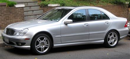 Mercedes Benz W203 Front Doors and Tailgate etc