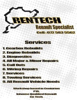 Rentech car specialists