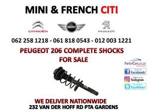 Peugeot 206 Complete shocks for sale