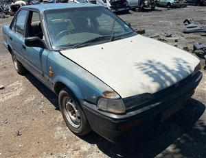 Toyota Corolla 1.3 1995 stripping for spares