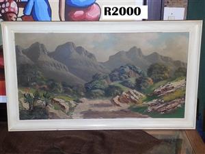 Original Hendrik Coetzee Painting(960x550)