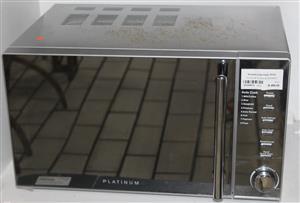 S034451A Platinum silver microwave #Rosettenvillepawnshop