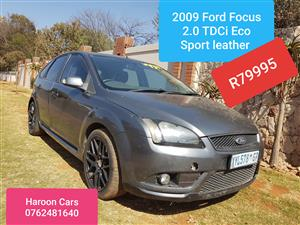 2009 Ford Focus sedan 2.0TDCi Trend