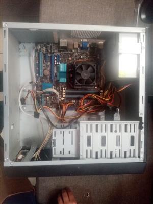 AMD Athlon ii 3.1 Ghz  dualcore   4gb RAM 500GB hdd Windows 10 pro