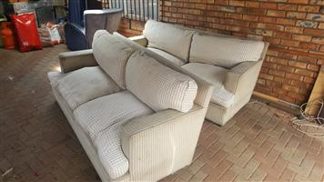 2 Large couches