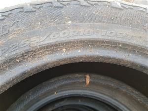 18 inch bakkies tyres