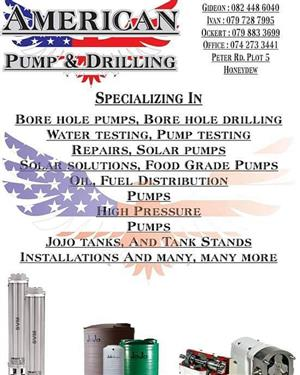 American pump and drilling