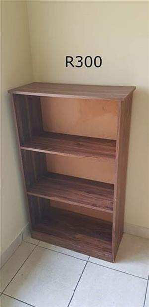 3 Tier wooden book shelf
