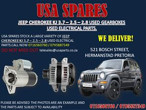 JEEP CHEROKEE KJ 2.5 – 2.8 – 3.6 ELECTRICAL PARTS FOR SALE