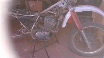 Xt350 stripping for spares