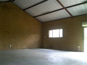 Workshop, Industrial Warehouse or Storage Areas