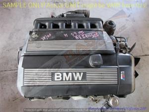 BMW 320i -206S4 2.0L DOHC EFI 16V VANOS Engine -E46