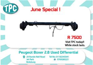 Peugeot Boxer 2.8 Used Diff for Sale at TPC
