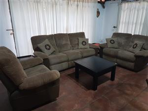 3 Piece Recliner Lounge Suite