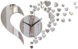 Fancy Heart Wall Clock