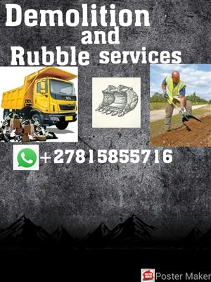 Affordable Demolition and rubble