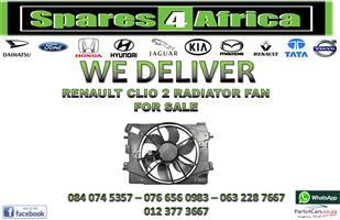 RENAULT CLIO 2 RADIATOR FAN FOR SALE